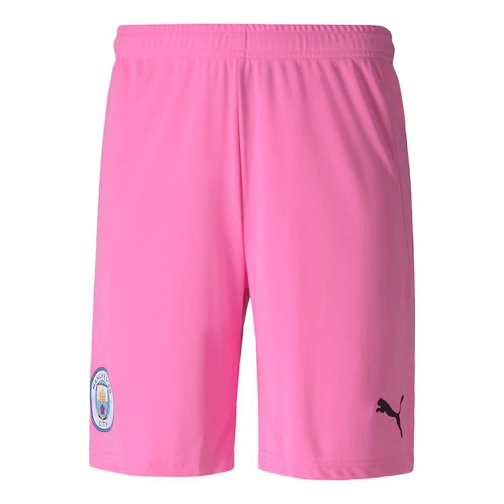 2020-2021 Manchester City Away Goalkeeper Shorts (Pink)