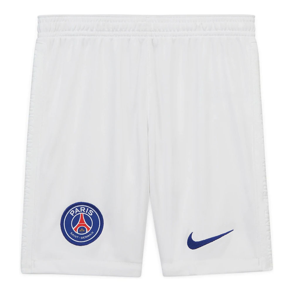 2020-2021 PSG Nike Away Shorts (White)