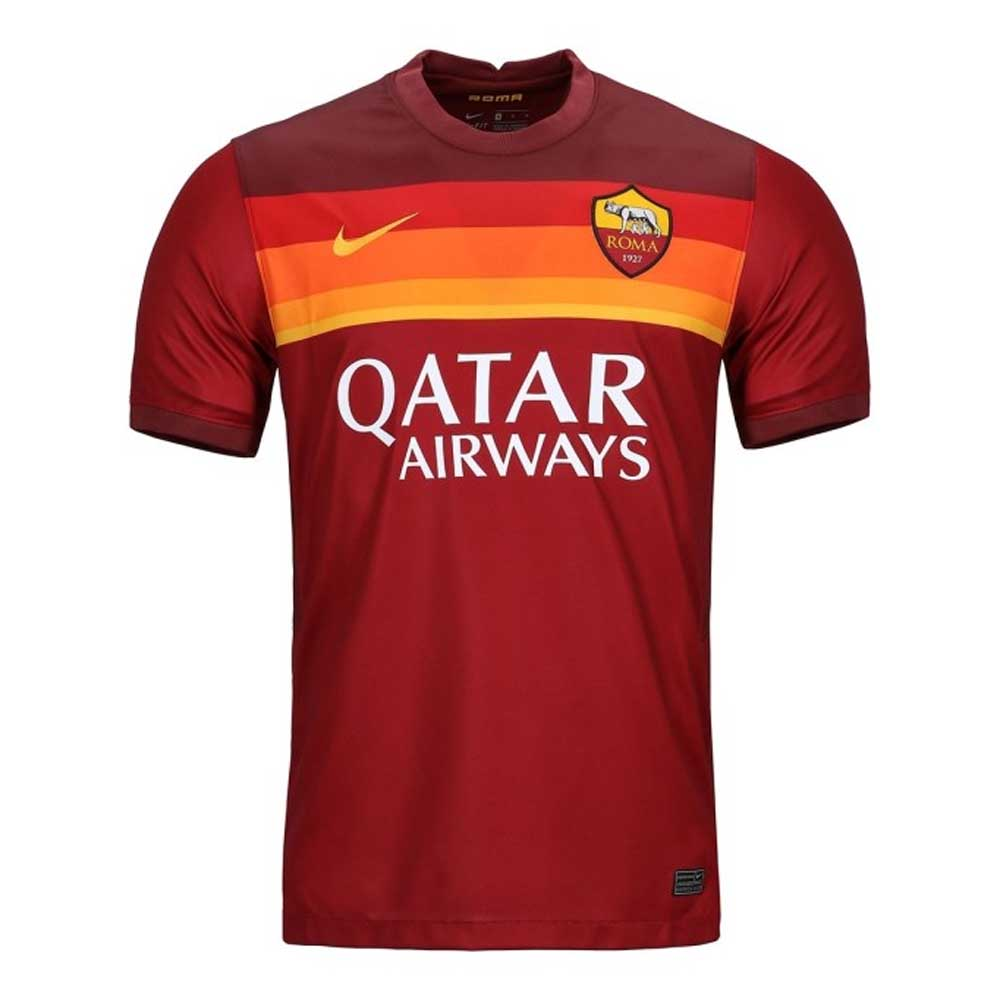 2020-2021 AS Roma Home Nike Football Shirt Nike