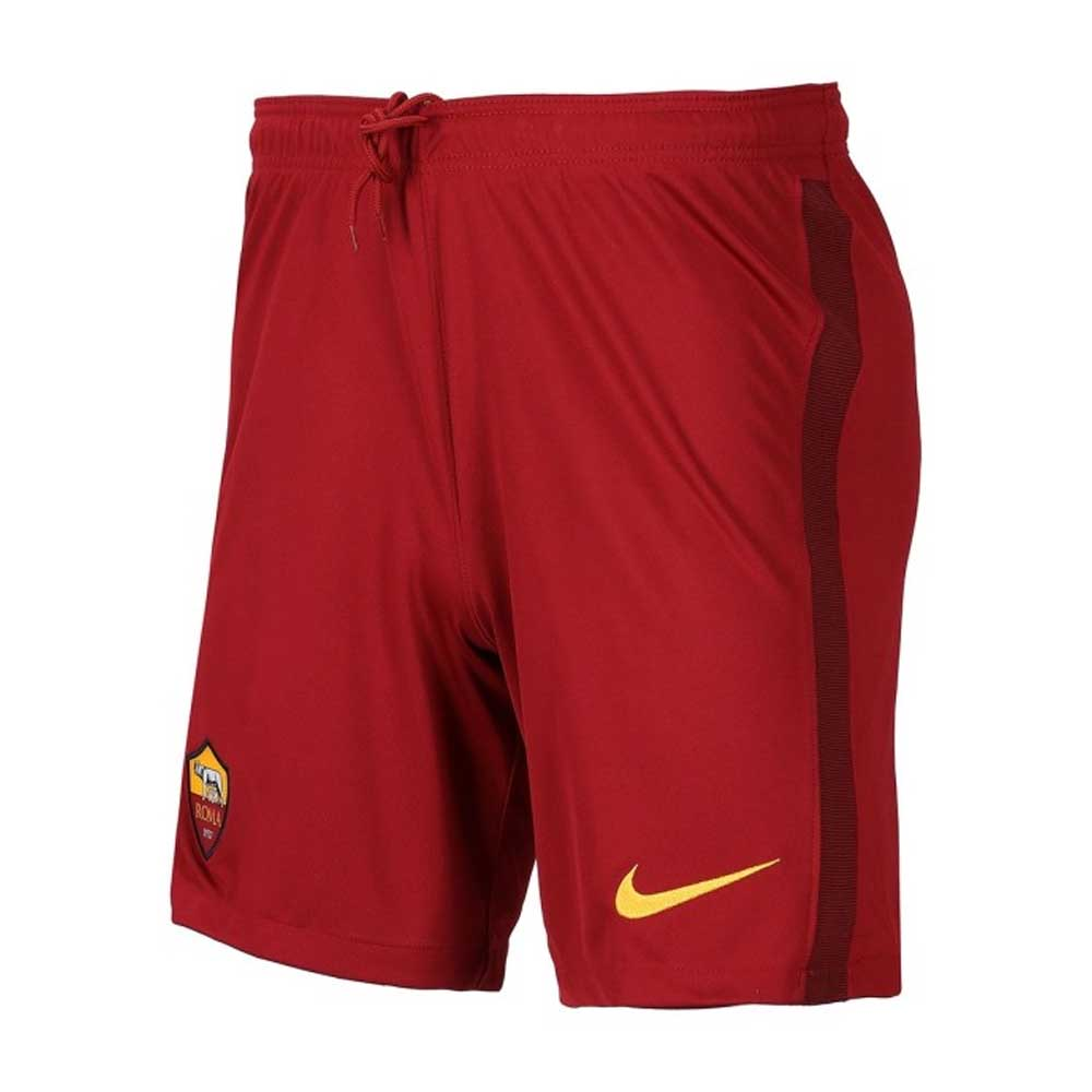 2020-2021 AS Roma Nike Home Shorts (Red)