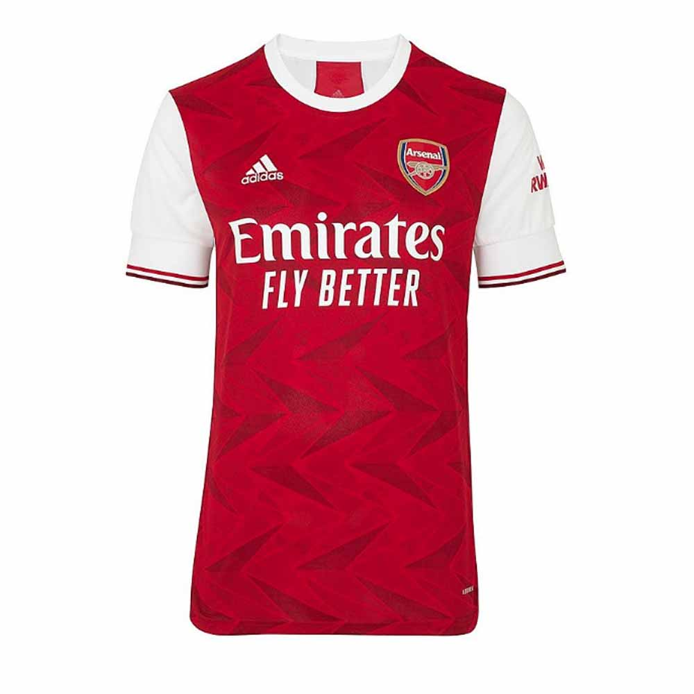 2020-2021 Arsenal Adidas Home Football Shirt Adidas