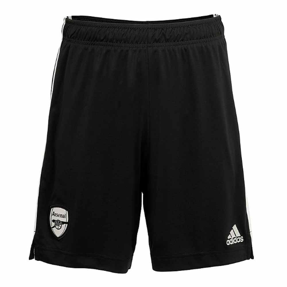 2020-2021 Arsenal Adidas Home Goalkeeper Shorts (Black)