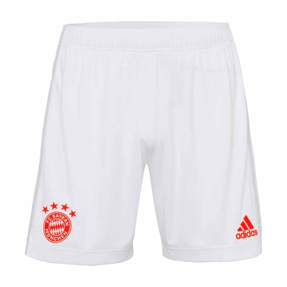 2020-2021 Bayern Munich Adidas Away Shorts (White)