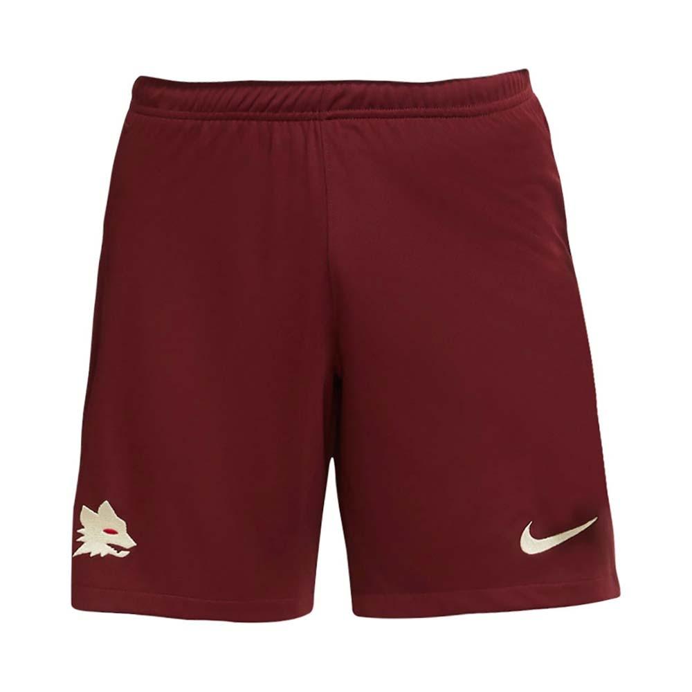 2020-2021 AS Roma Nike Away Shorts (Red)