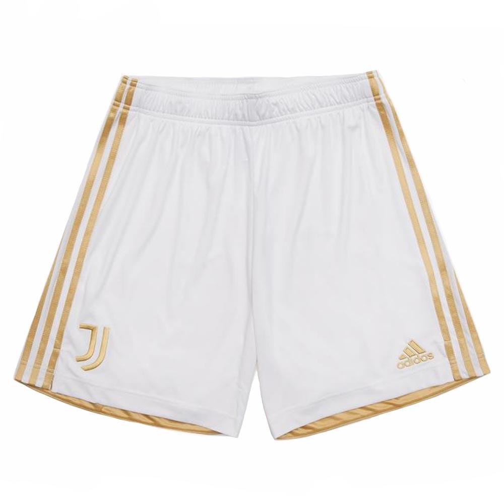 2020-2021 Juventus Adidas Home Shorts (White)