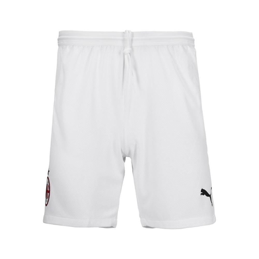 2020-2021 AC Milan Puma Home Shorts (White)
