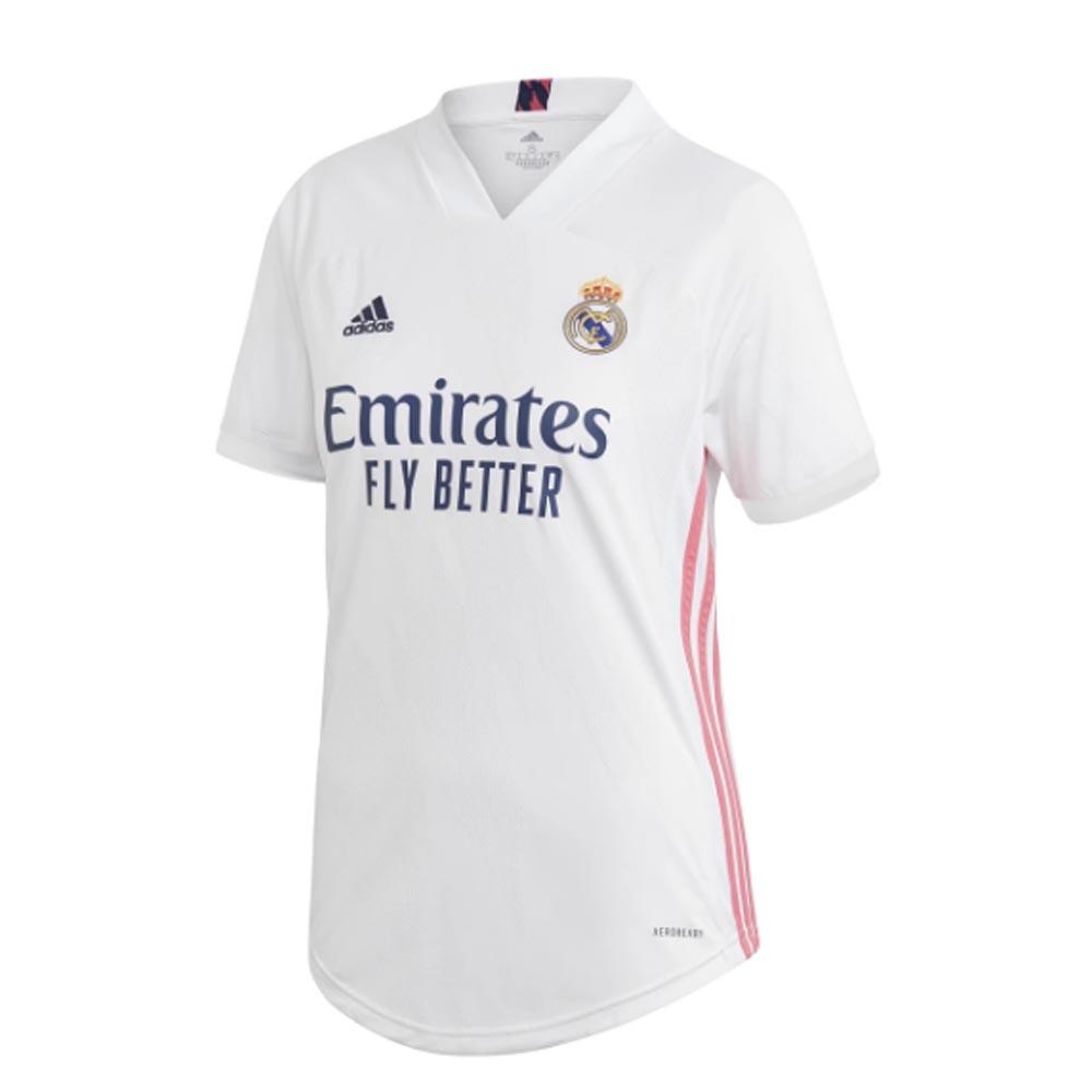 2020-2021 Real Madrid Adidas Womens Home Shirt