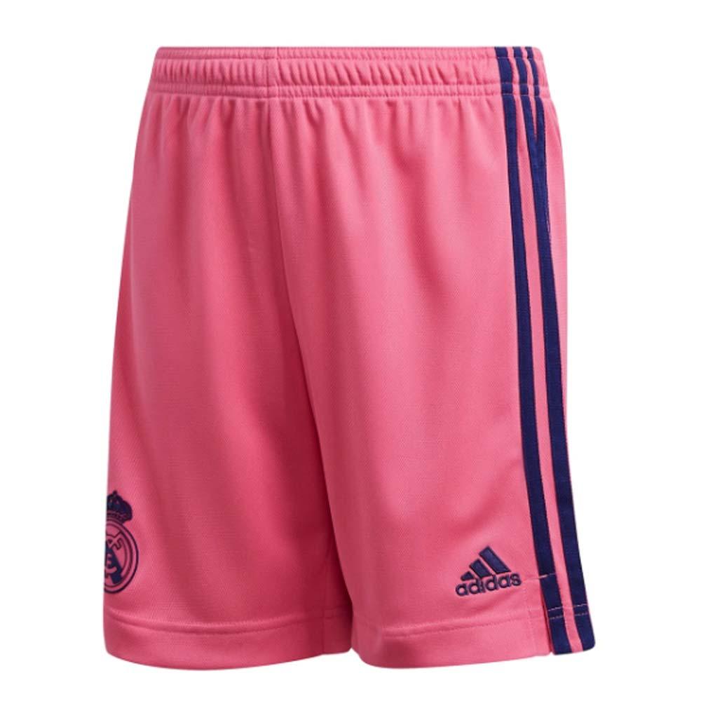 2020-2021 Real Madrid Adidas Away Shorts (Pink) - Kids