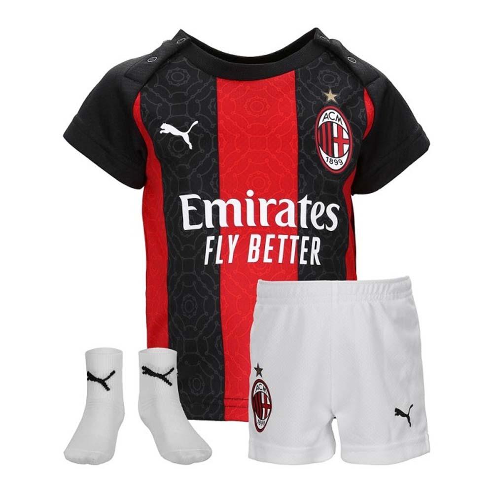 2020 2021 Ac Milan Puma Home Baby Kit 75745001 Uksoccershop