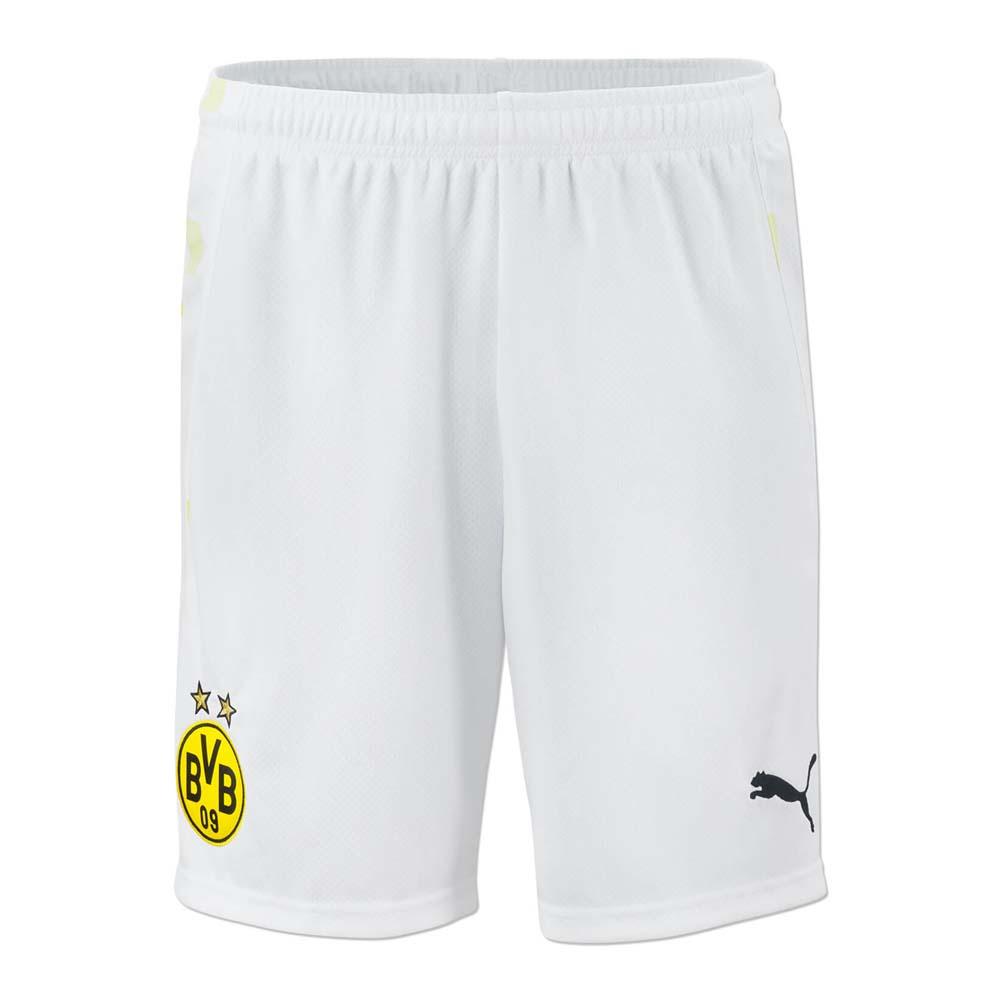 2020-2021 Borussia Dortmund Third Cup Puma Shorts (White)