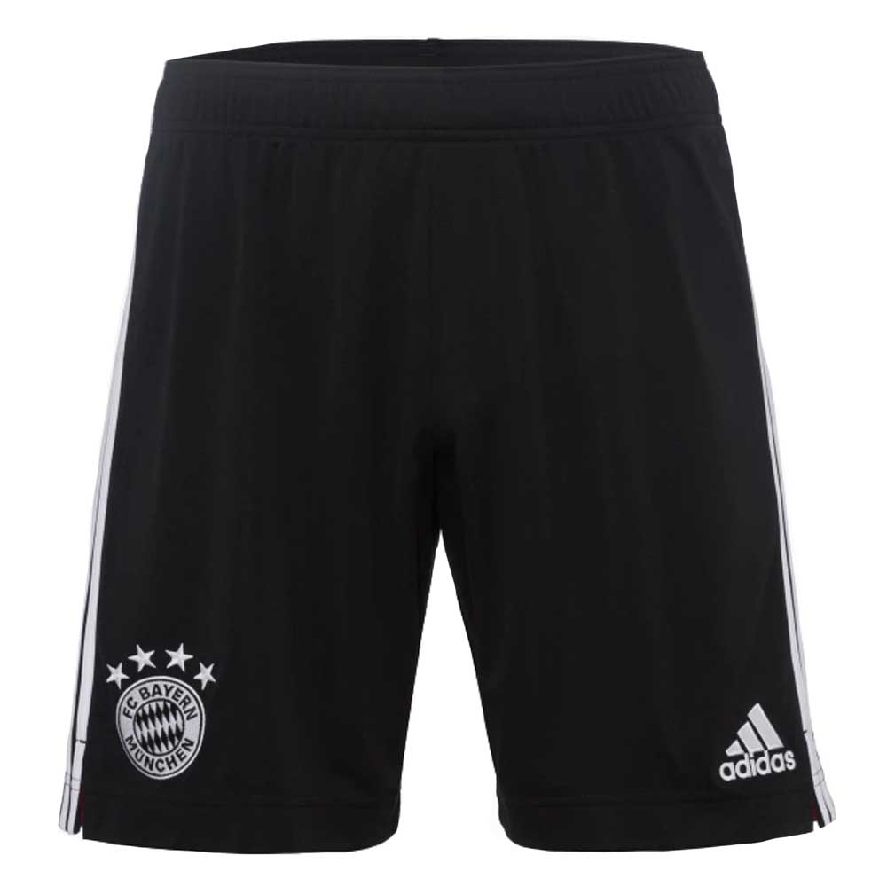 2020-2021 Bayern Munich Adidas Third Shorts (Black)