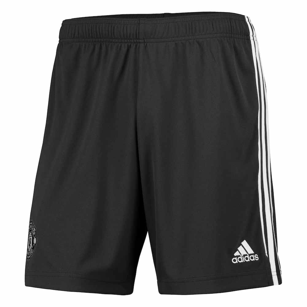 2020-2021 Man Utd Adidas Away Shorts (Legend Earth)