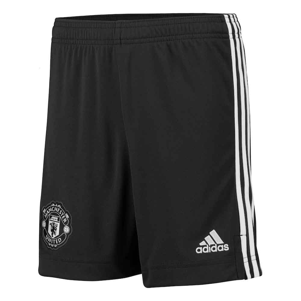 2020-2021 Man Utd Adidas Away Shorts (Kids)