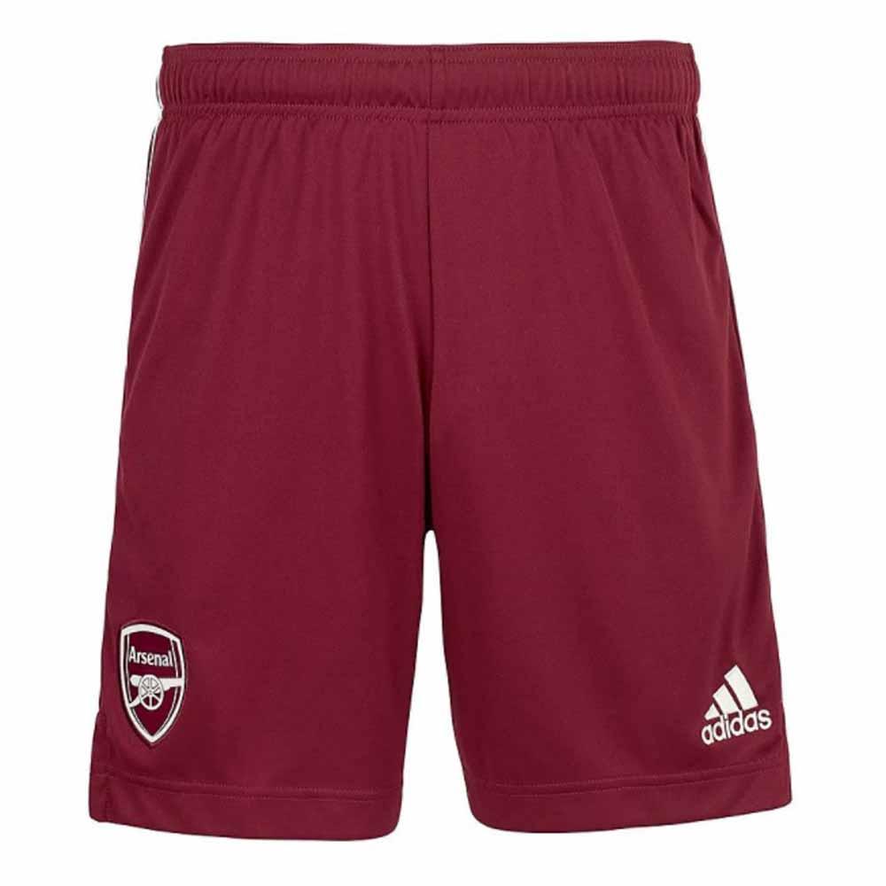 2020-2021 Arsenal Adidas Away Shorts (Maroon)