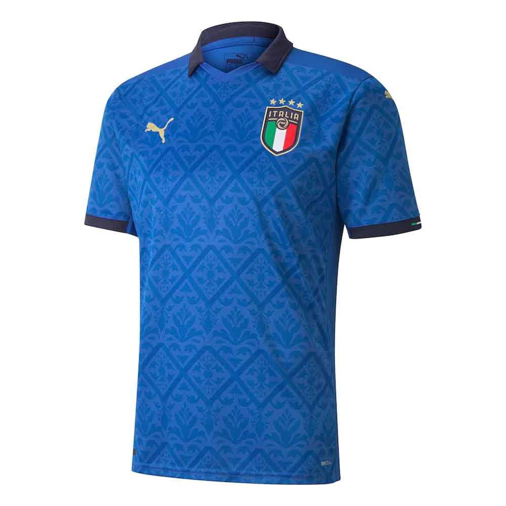 2020-2021 Italy Home Puma Football Shirt Puma