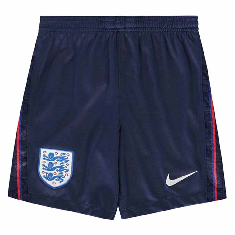 2020-2021 England Nike Home Shorts (Navy) - Kids