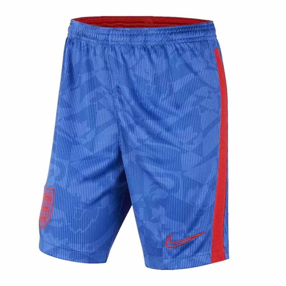 2020-2021 England Nike Away Shorts (Blue) - Kids