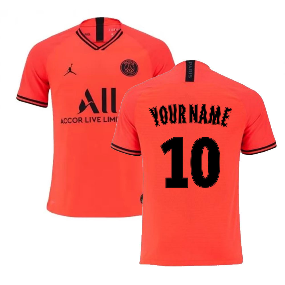 2019-2020 PSG Authentic Vapor Match Away Nike Shirt (Your Name)