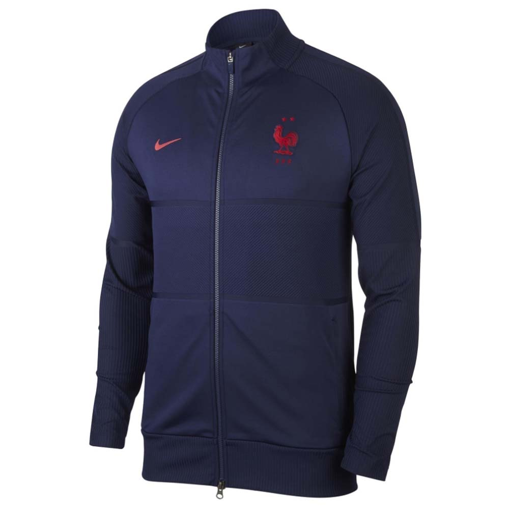 2020-2021 France Nike Strike Anthem Jacket (Navy)