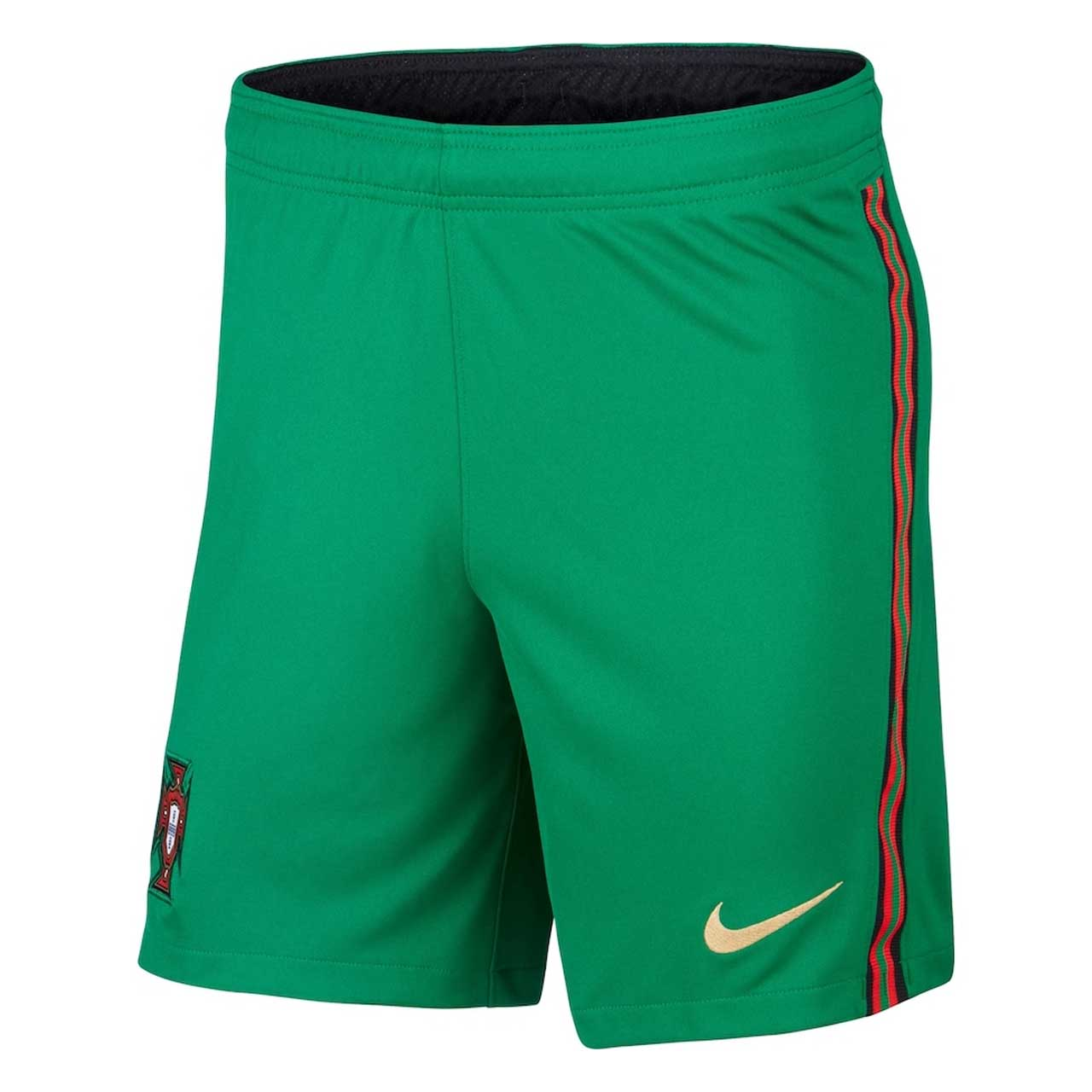 2020-2021 Portugal Nike Home Shorts (Green)