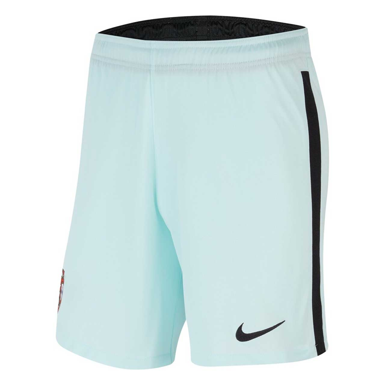 2020-2021 Portugal Nike Away Shorts (Teal Tint)