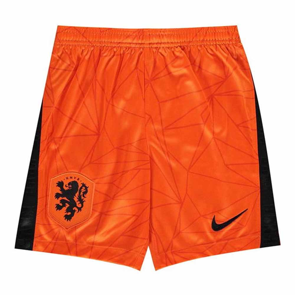 2020-2021 Holland Nike Home Shorts (Orange) - Kids