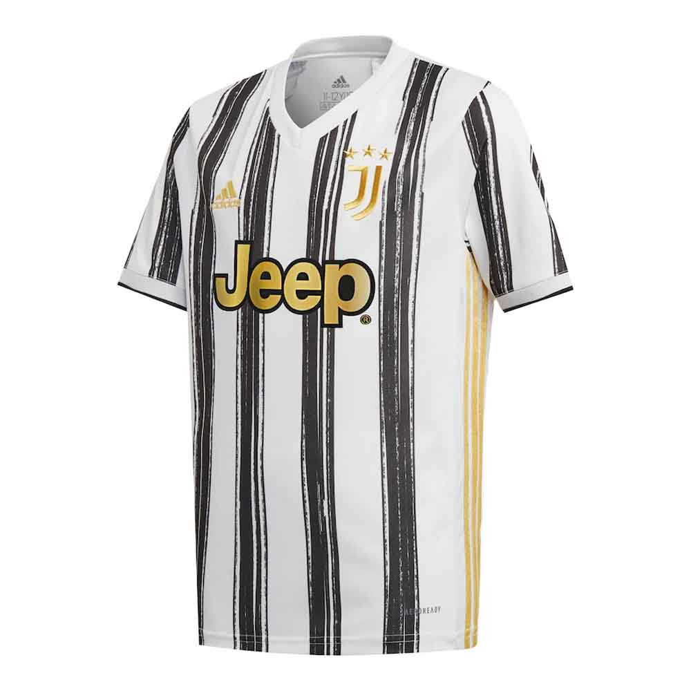 2020-2021 Juventus Adidas Home Football Shirt Adidas