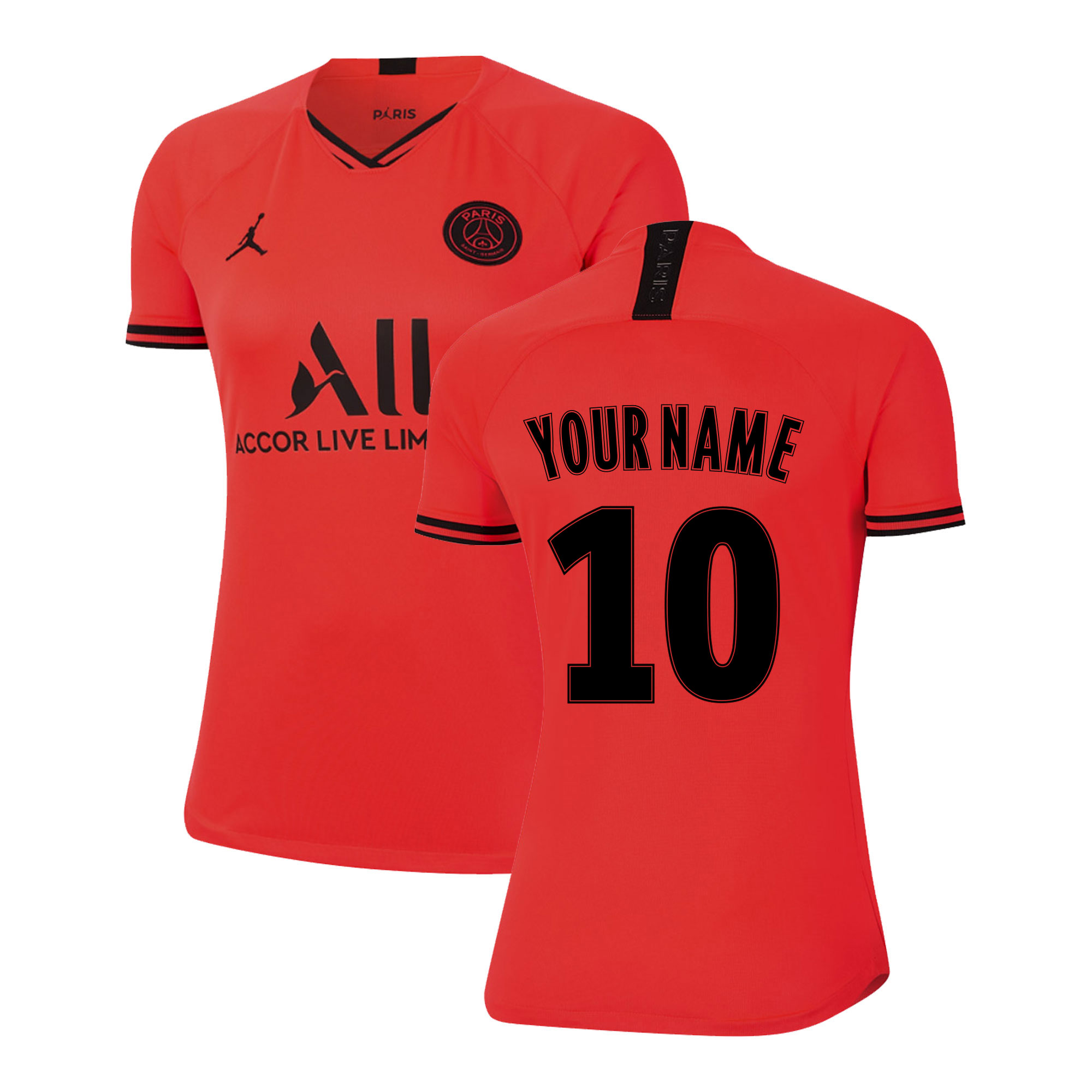 2019-2020 PSG Away Womens Shirt (Your Name)