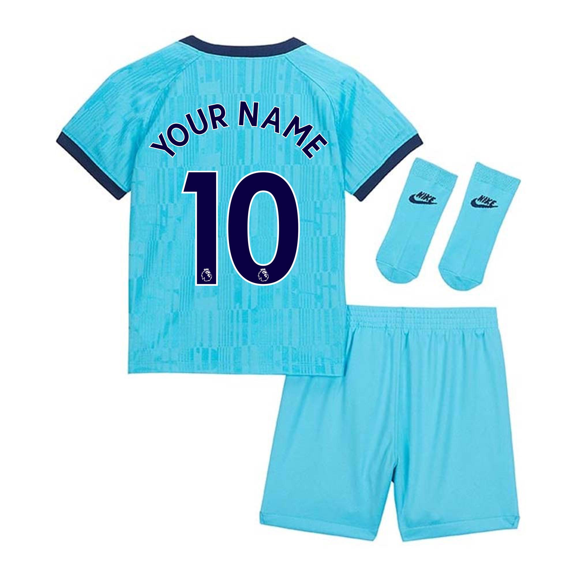 2019-2020 tottenham third baby kit (your name)