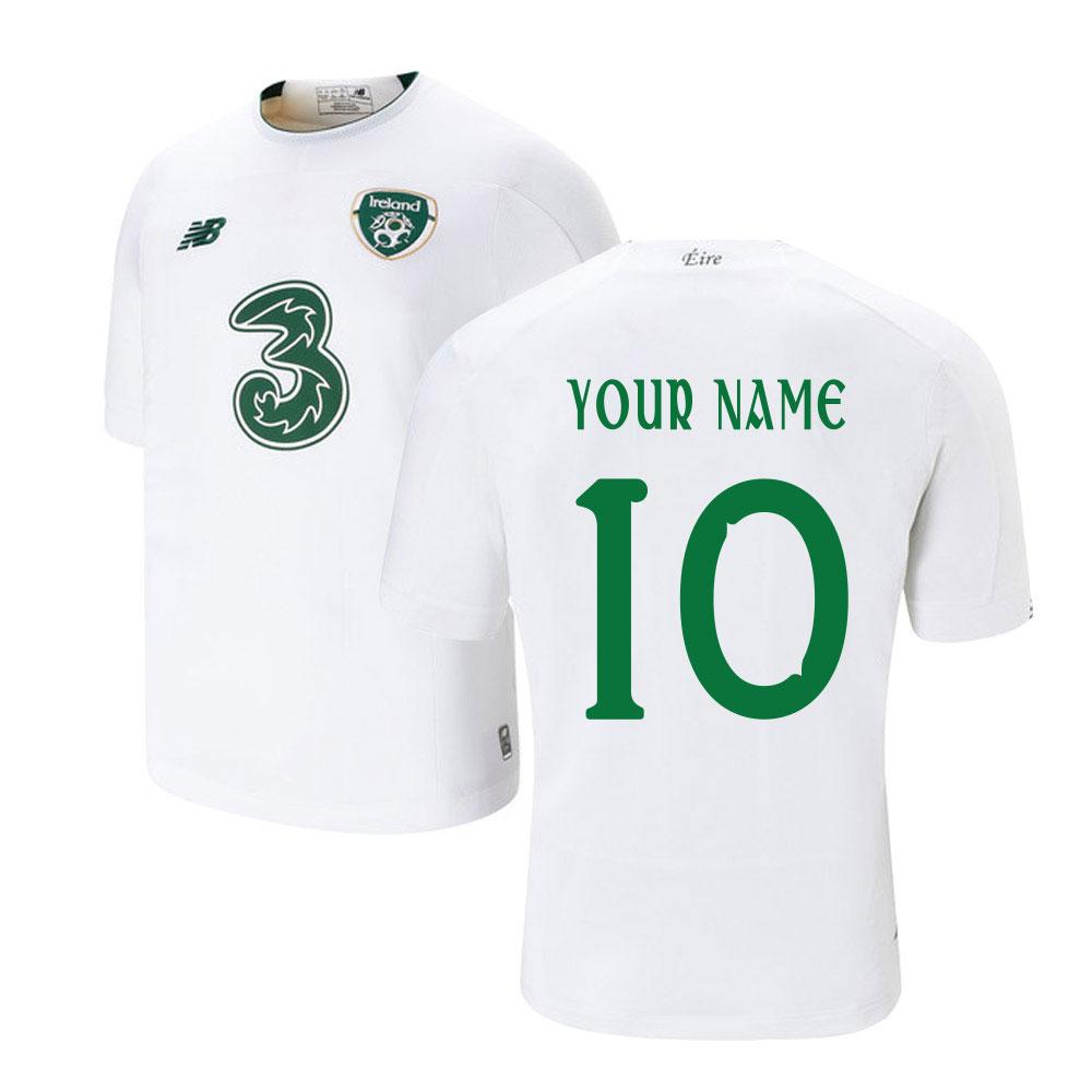 2019-2020 Ireland New Balance Away Shirt (Your Name)
