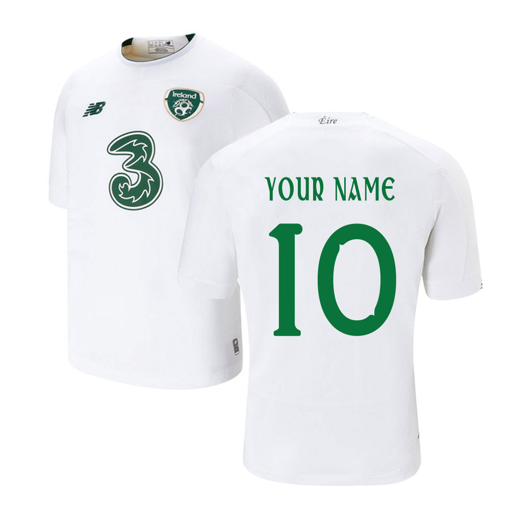 2019-2020 Ireland Away New Balance Football Shirt (Kids) (Your Name)