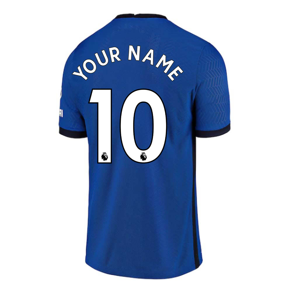 2020-2021 Chelsea Nike Vapor Home Match Shirt (Your Name)