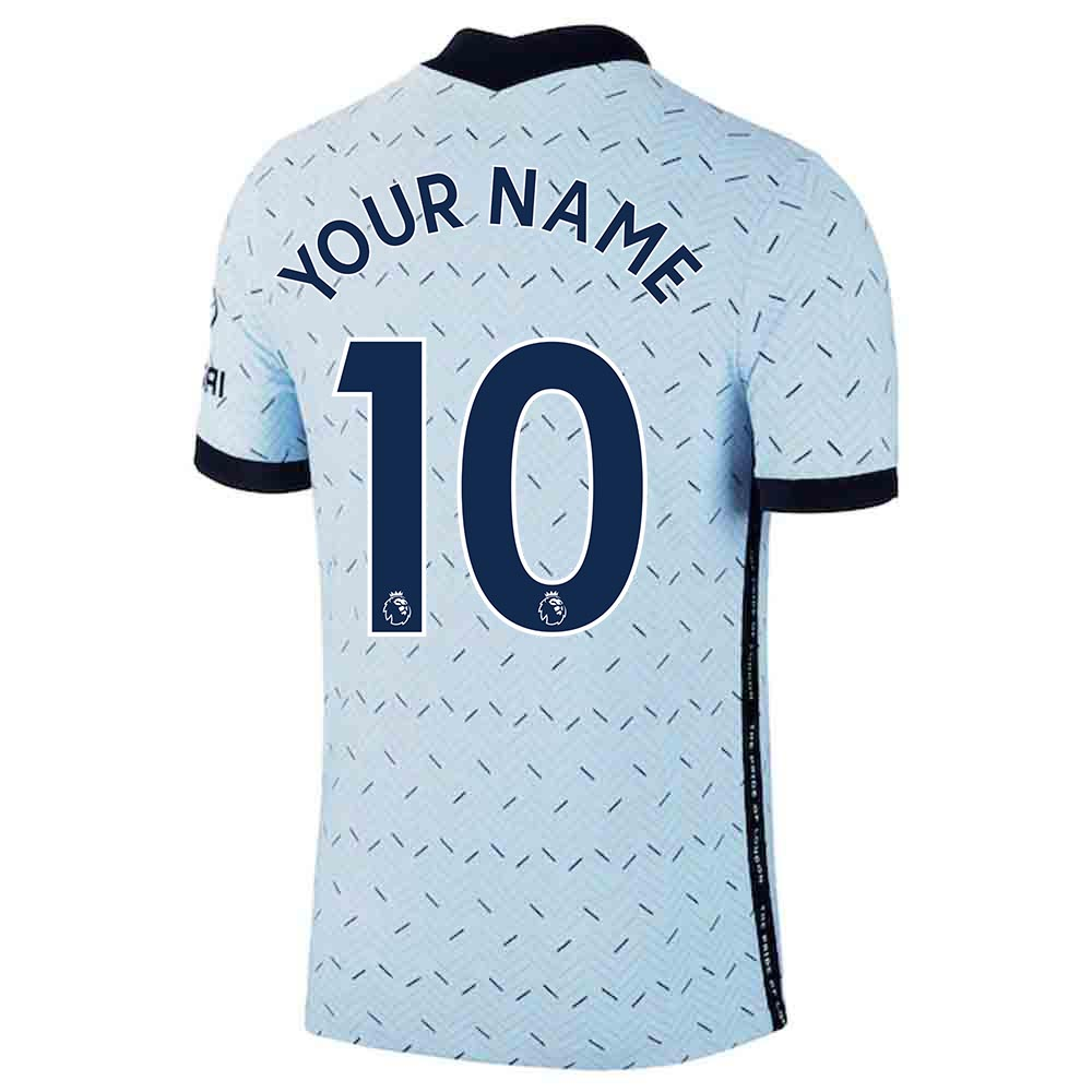 2020-2021 Chelsea Nike Vapor Away Match Shirt (Your Name)