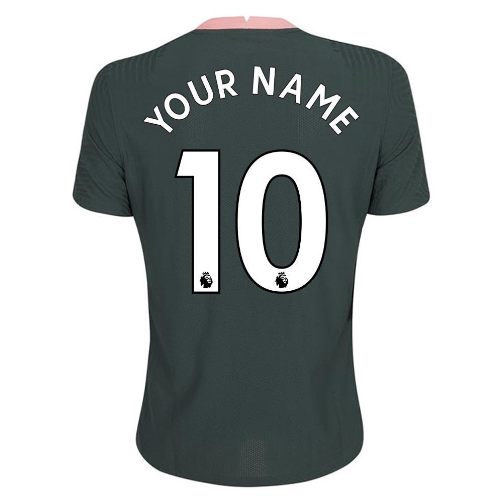 2020-2021 Tottenham Vapor Match Away Nike Shirt (Your Name)