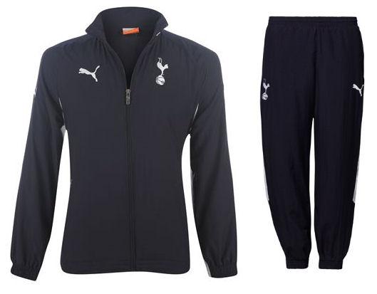 2011-12 Tottenham Puma Woven Tracksuit (Navy) - Kids 2