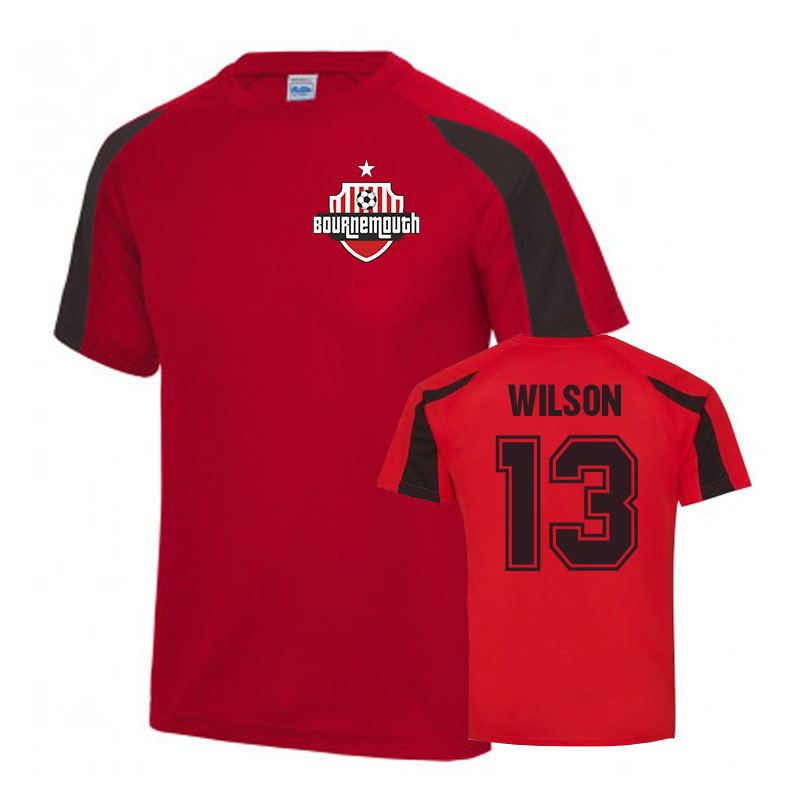 Callum Wilson Bournemouth Sports Training Jersey (Red)