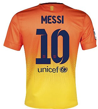 8bead497b 2012-13 Barcelona Nike Away Shirt (Messi 10)  478315478326-25176  -  Uksoccershop