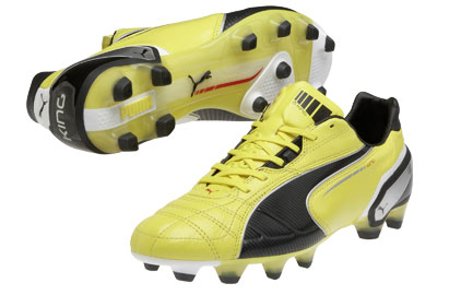 King FG Football Boots Blazing Yellow/Black/White