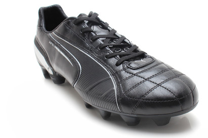 King FG Football Boots Black/Black/Silver