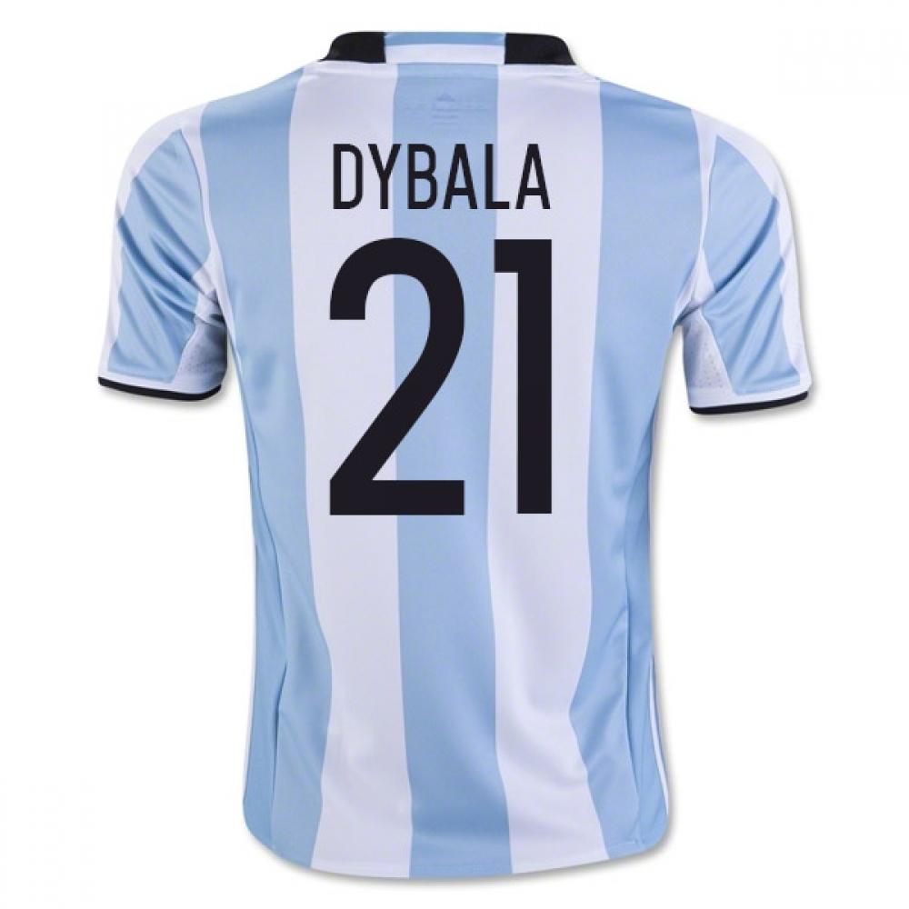 the best attitude 7ffc2 71a3f 2016-17 Argentina Home Shirt (Dybala 21) - Kids