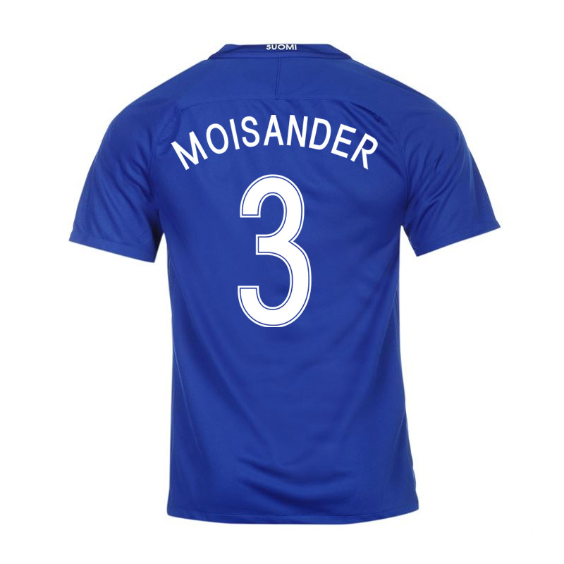 Click to view product details and reviews for 2016 17 Finland Away Shirt Moisander 3.