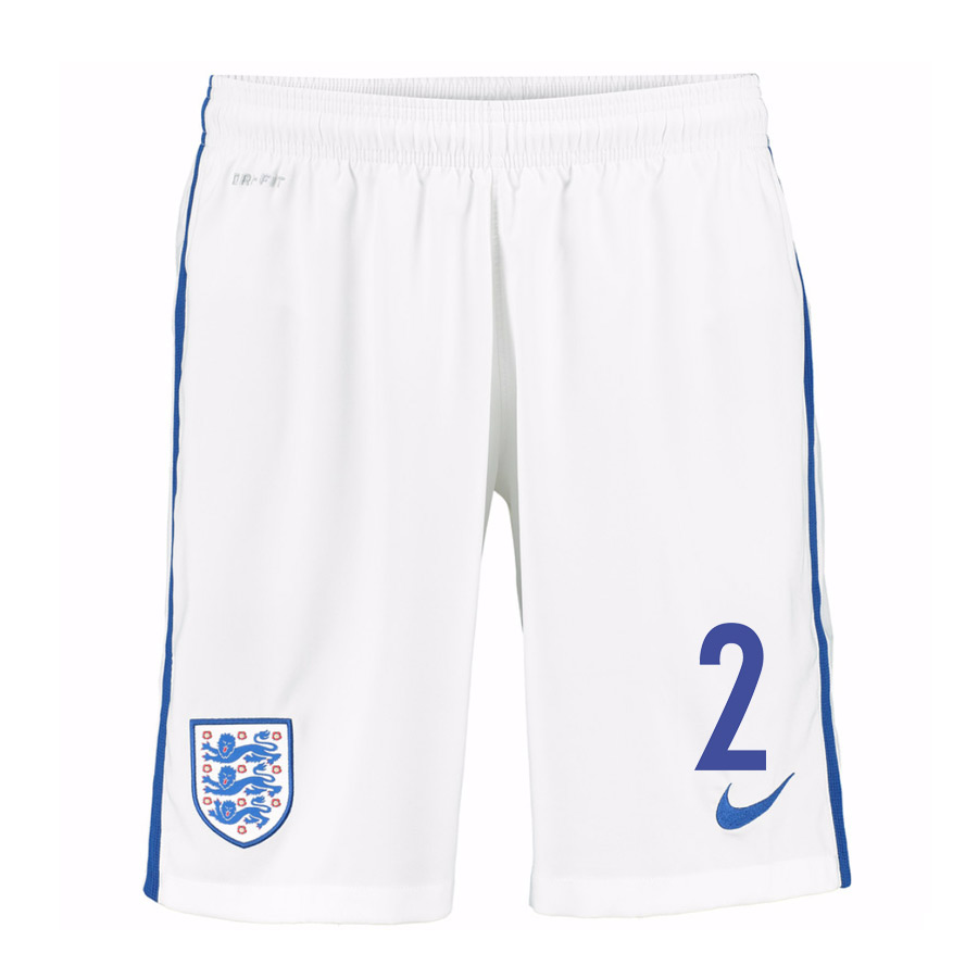 2016-17 England Home Shorts (2) - Kids