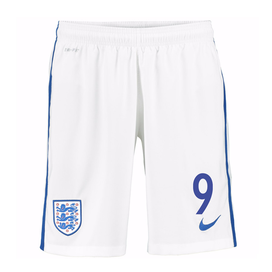 2016-17 England Home Shorts (9) - Kids