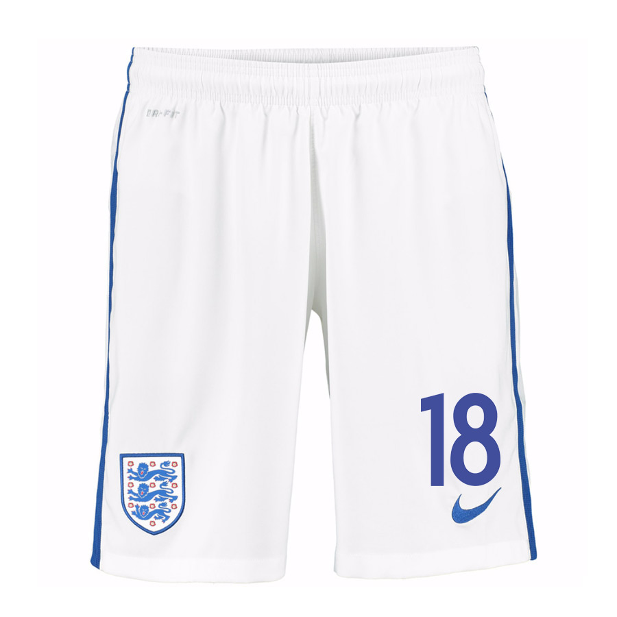 2016-17 England Home Shorts (18) - Kids