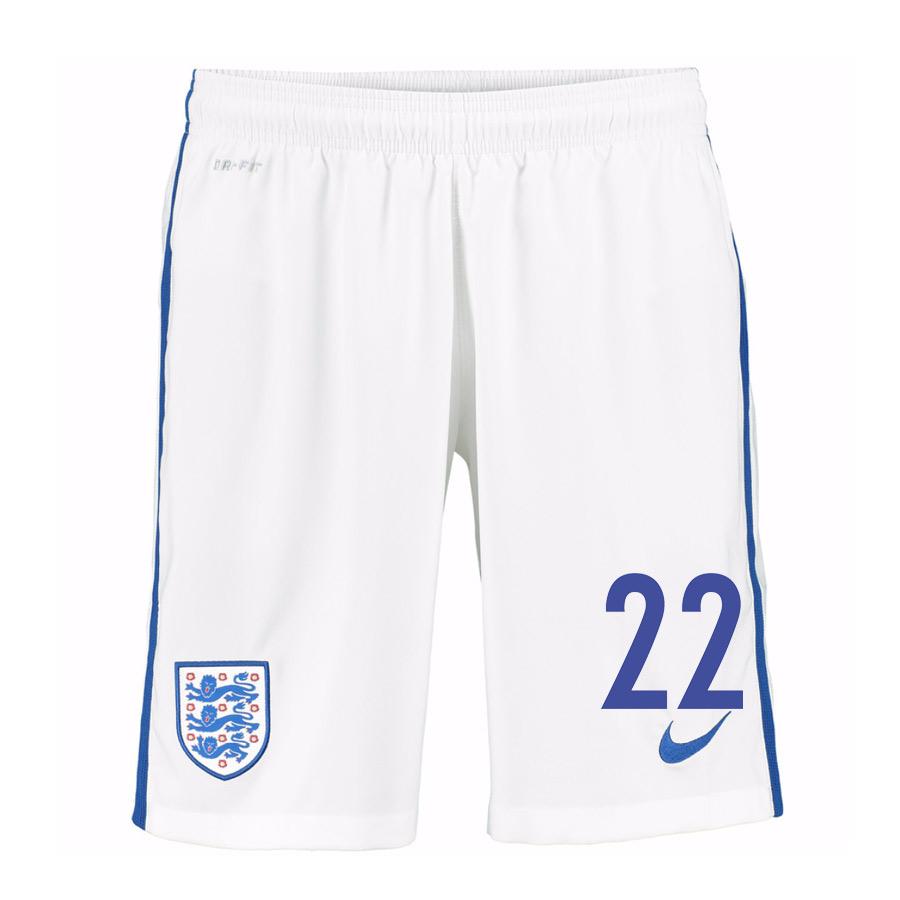 2016-17 England Home Shorts (22) - Kids