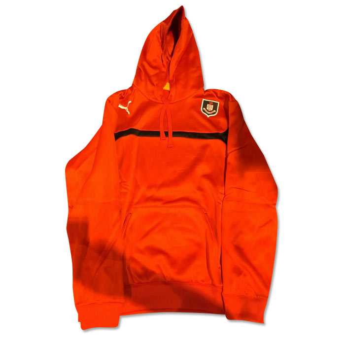 Click to view product details and reviews for 2014 2015 Airdrieonians Puma Hooded Top Red Kids.