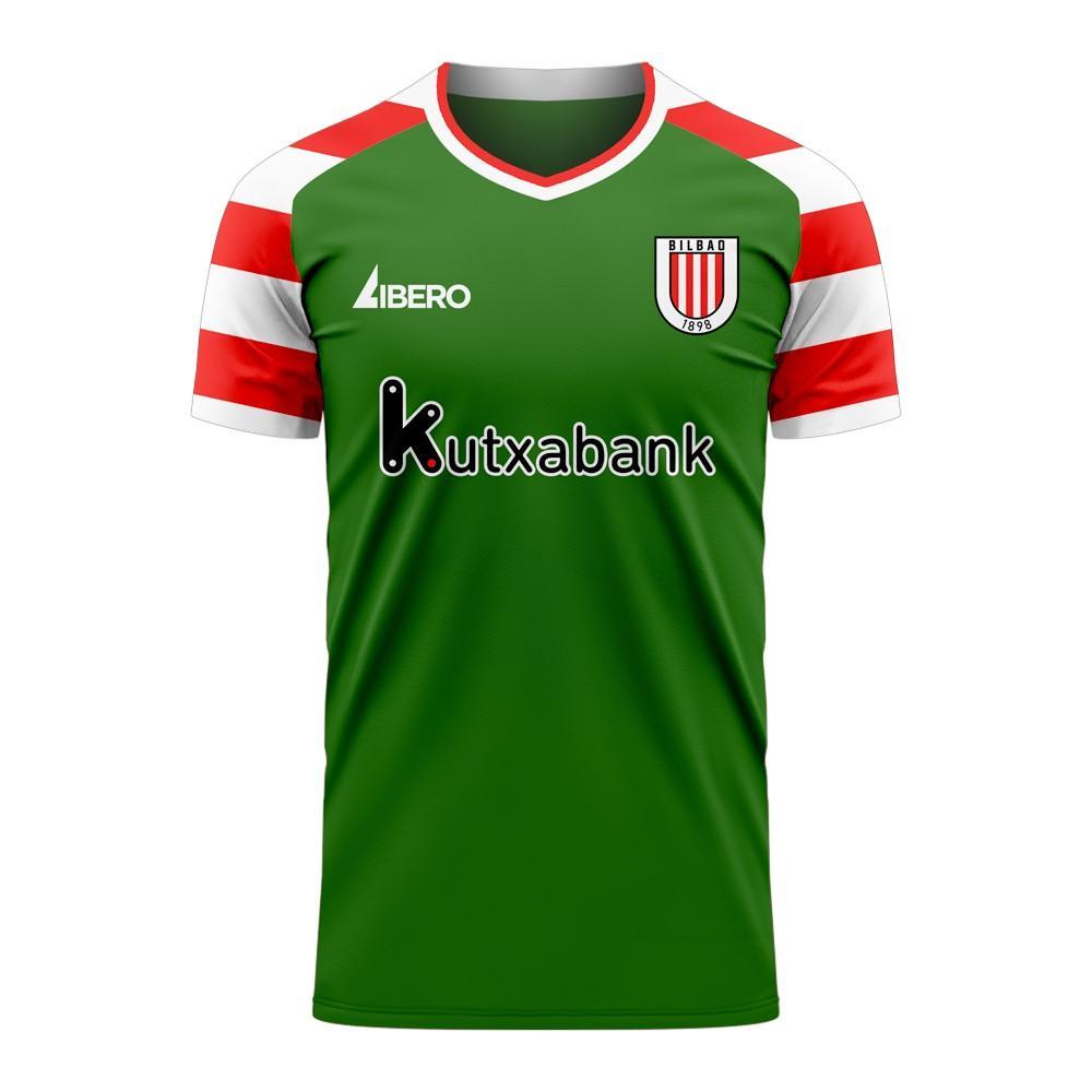 Athletic Bilbao 2020-2021 Away Concept Football Kit (Libero)