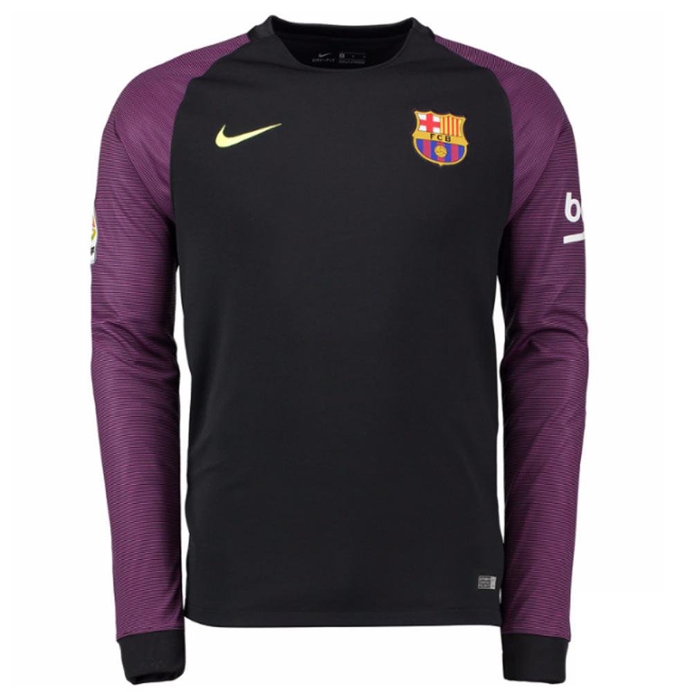2016 2017 Barcelona Home Nike Goalkeeper Shirt Black 776838 011