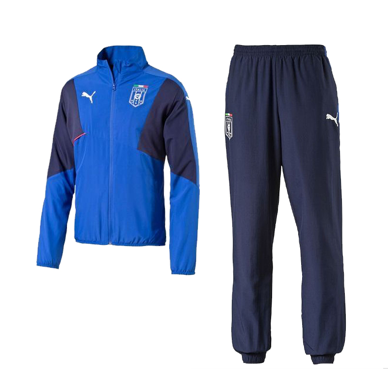 2015-2016 Italy Puma Stadium Leisure Tracksuit (Blue)