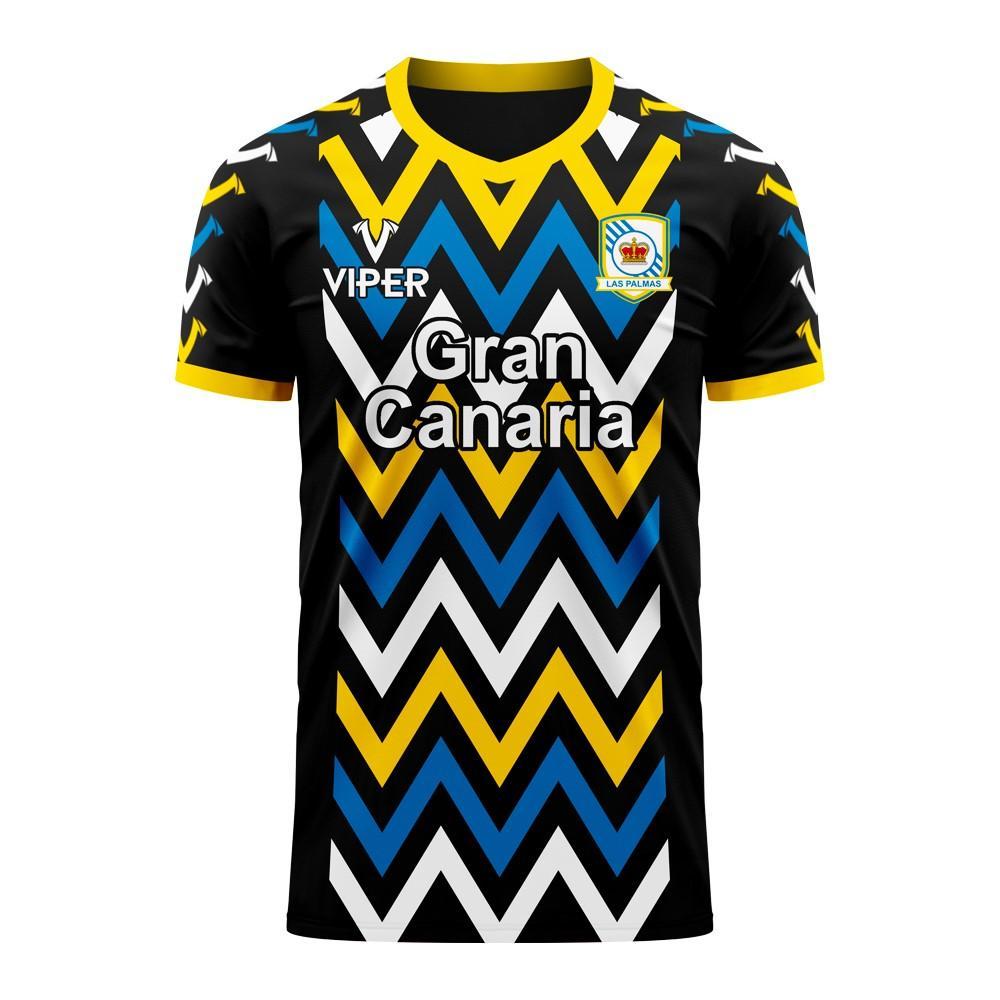 Las Palmas 2020-2021 Away Concept Football Kit (Viper)